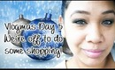 Vlogmas Day 5 - We're off to do some shopping