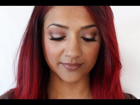 Fall Makeup Tutorial Morphe 350 Palette Deepa B Video Beautylish