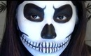 Quick & Easy Skeleton Makeup