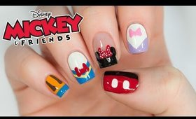 Disney's Mickey Mouse And Friends Nail Art Design!