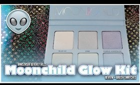 Anastasia Beverly Hills l Moonchild Glow Kit l Live Swatching + Brush Swatches + Review