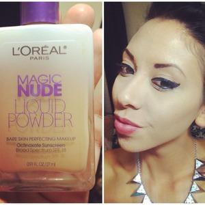 Loreal magic nude foundation