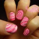 Tie-Dye Nail Art