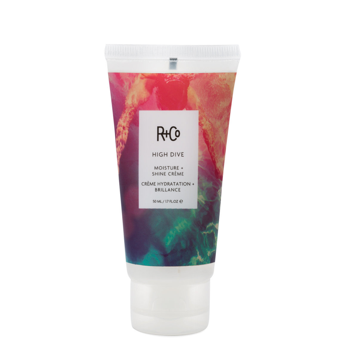R+Co High Dive Moisture + Shine Cream 1.7 oz product smear.