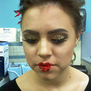 Love is in the air contest, Make-up done by me