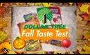 Dollar Tree Fall Taste Test | October 2018