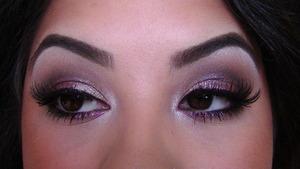 Metallic Purple Surf Baby Eyes
