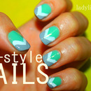 V - style Nails