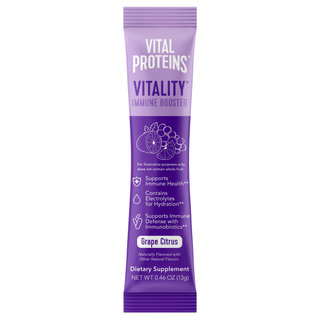 Vitality Immune Booster Stick Pack Box Grape Citrus