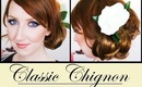 HAIR TUTORIAL - Messy Side Bun Wedding Hairstyle with ABHair Extensions!