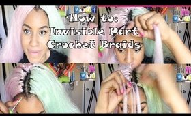 How to: Invisible Knots Crochet Braids