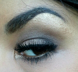 A look I did with the original naked palette:)
