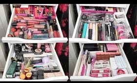HUGE Makeup Collection & Storage 2017! | Part Two