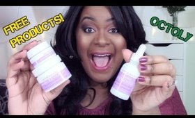 FREE Beauty Products For Youtubers| DermaDoctor Review| Octoly