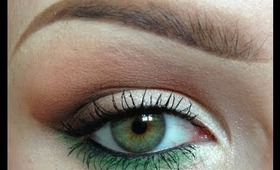 How to add subtle colour to your eye makeup