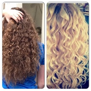 My hair 2months ago to the left 2weeks ago to the right! Now I need a new style help!?!?!