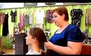 1033 Main Salon & Spa: Fast, Fun & Easy Segmented Ponytail & Topknot Chignon Updo Variations
