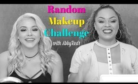 Random Makeup Challenge with AbbyRed | Beauty by Pinky