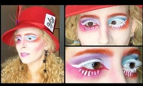 Mad Hatter Halloween Makeup: GRWM Alice Through the Looking Glass