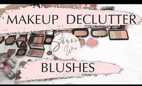 MAKEUP DECLUTTER BLUSHES