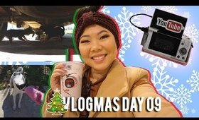 🎄 VLOGMAS DAY 09: PUPPY TUG O WAR, KUNG FU TEA NOLA GRAND OPENING, NEW VLOG CAMERA | MakeupANNimal