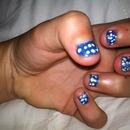 Cali Allstars Colored Nails
