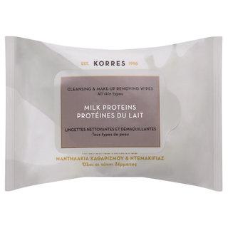 Korres Milk Proteins Cleansing Wipes