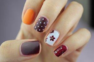 Beautiful and original idea for nails