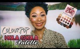MAKEUP IN 5 MINUTES: ColourPop Hola Chola Palette