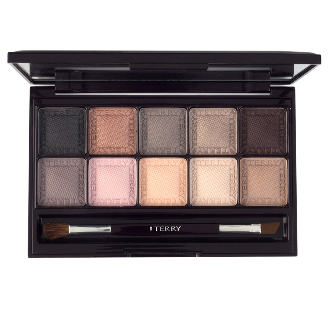 BY TERRY Eye Designer Palette 1 Smoky Nude product smear.
