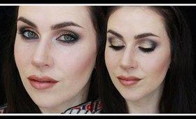 Smokey Eyes & Brown Ombré Nude Lip Makeup Tutorial | LetzMakeup