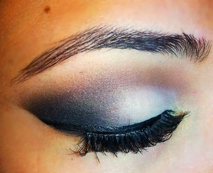 Smokey eye on client