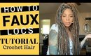 Waist Length Crochet Faux Locs Tutorial | Bobbi Boss Bomba