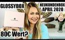 Glossybox Neukunden Box April 2020 | UNBOXING , LIVETEST & VERLOSUNG