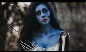 My New Corpse Bride Cosplay Makeup Time Lapse