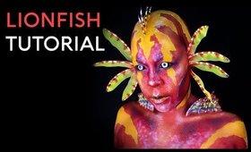 Lionfish | FX Body Paint Tutorial