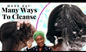 4c Hair Wash Day   The Best Cleansers on Natural Hair-Scalp Care