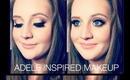 Adele Inspired Makeup Ft. Brooke!