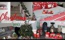 Christmas Home Decor Tour 2017 - Modern Farmhouse Inspired