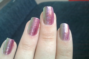 OPI - Just like the movies (Katy Perry) and ChG Awakening
