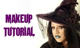 Carnival Witch - Halloween Makeup Tutorial