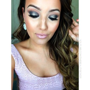 Grey smokey eye using the lorac pro palette 2 on my channel :) YouTube.com/TheBeautyBox1211