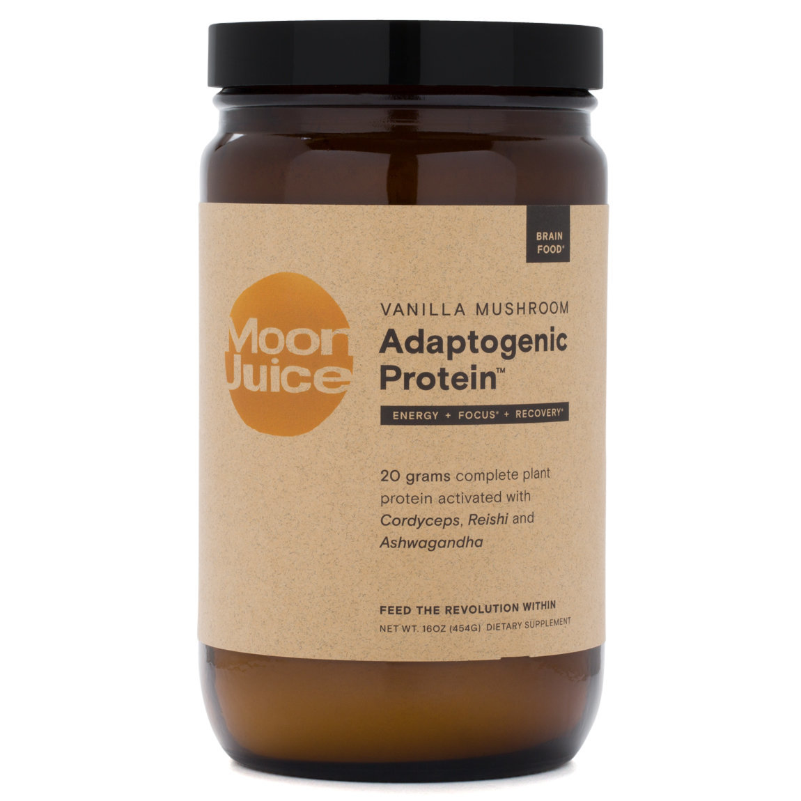 Moon Juice Vanilla Mushroom Adaptogenic Protein alternative view 1 - product swatch.