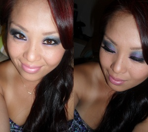 Cha, One of my sisters her make-up tutorial