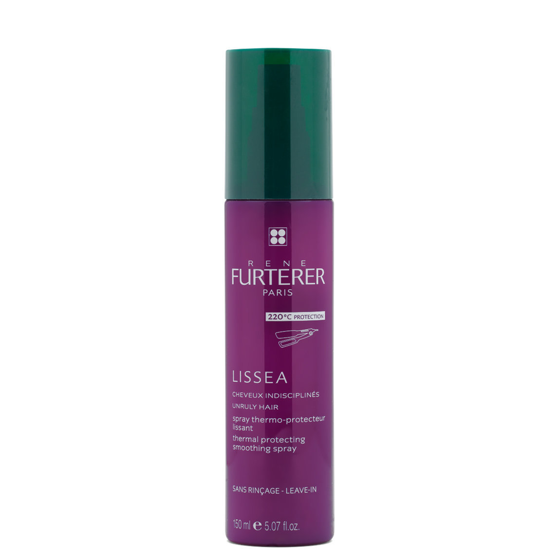 Rene Furterer Lissea Thermal Protecting Smoothing Spray product swatch.