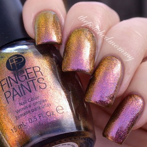 Swatch and review on the blog:http://www.thepolishedmommy.com/2014/02/fingerpaints-surreal-sunset.html  #fingerpaints #sallybeauty #purchasedbyme #swatch