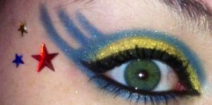Maybelline eye enhancers in dazzel metallics Elf palette