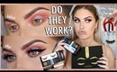 magnetic eyelashes & eyeliner review ⚡ DOES IT WORK? debatable...