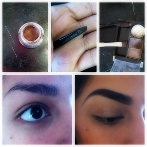 This is what i use to fill my eyebrows out  😁