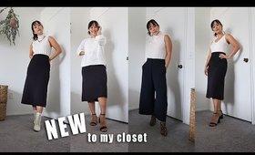New To My Closet | Fall Fashion (capsule wardrobe)